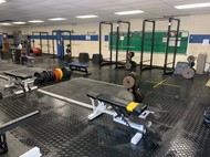 Weight Room Following Deep Cleaning