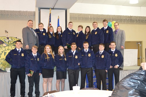 FFA Students Earn State and American Degrees
