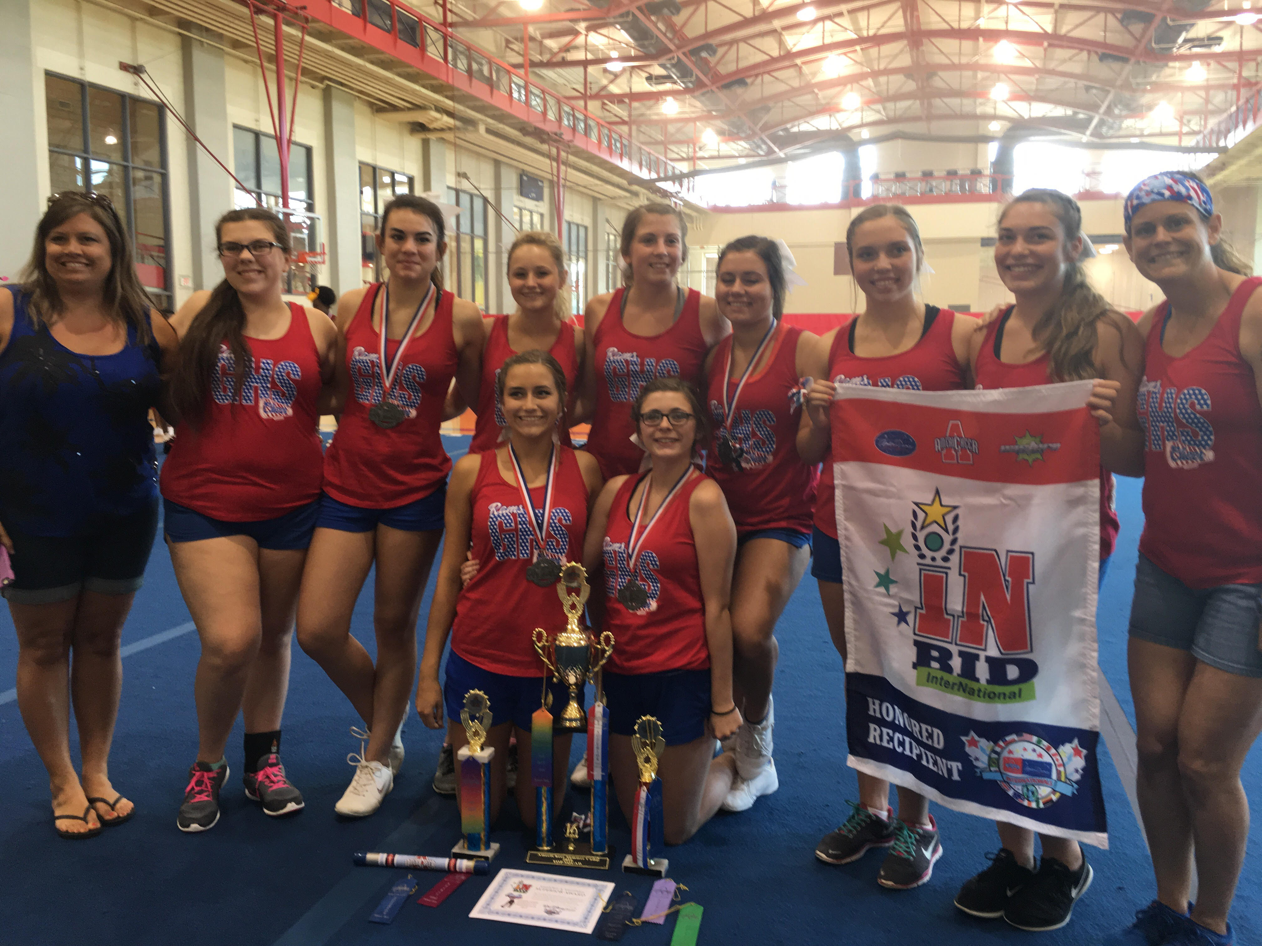Cheerleading Squad Qualifies for National Competition